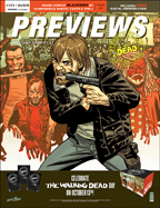 PREVIEWS Cover-August 18 Front