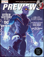 PREVIEWS Cover-November 18 Front