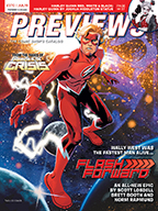 July PREVIEWS Front