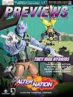 August PREVIEWS Front