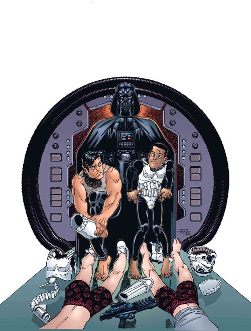Marvel Comics' Star Wars: Tag & Bink Were Here