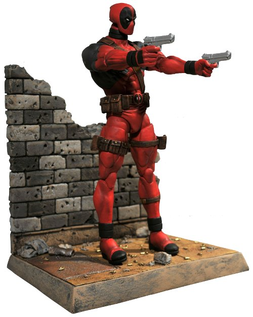 Diamond Select Toys -- Marvel Select: Deadpool Action Figure