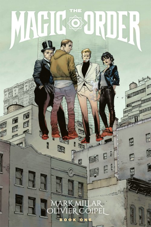 Image Comics -- The Magic Order