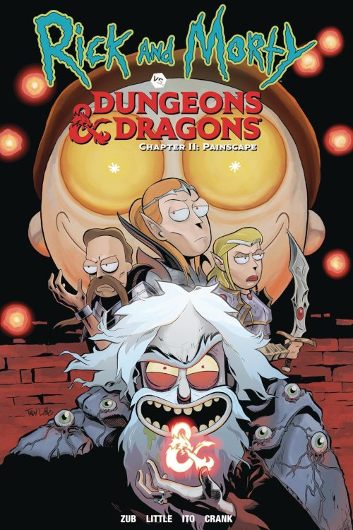 Oni Press -- Rick and Morty vs. Dungeons & Dragons II: Painscape