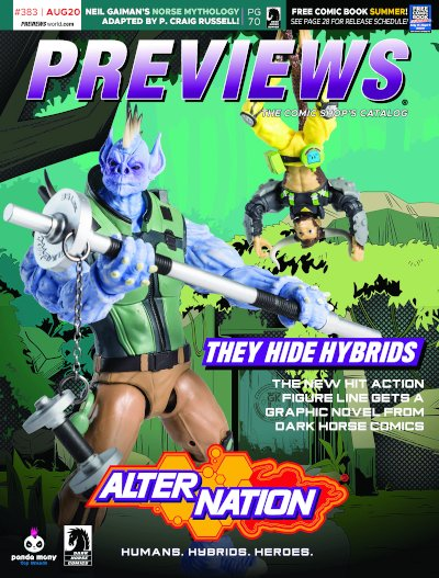 Dark Horse Comics -- Alter Nation: They Hide Hybrids